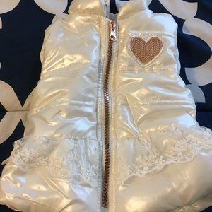 Little Lass Puffy Baby Vest